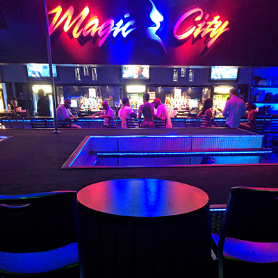Reserve Stage Vip Table Magic City Reservations